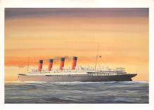 shpp002127 - White Star Line Ship Postcard Old Vintage Steamer Antique Post Card