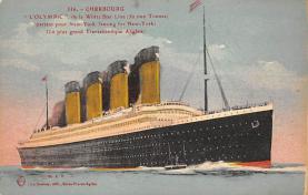 shpp003003 - White Star Line Ship Postcard Old Vintage Steamer Antique Post Card