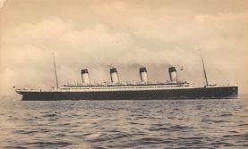 shpp003053 - White Star Line Ship Postcard Old Vintage Steamer Antique Post Card