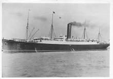 shpp004009 - Cunard Line Ship Postcard Old Vintage Steamer Antique Post Card