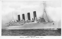 shpp006021 - Cunard Line Ship Postcard Old Vintage Steamer Antique Post Card
