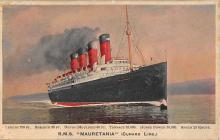 shpp006055 - Cunard Line Ship Postcard Old Vintage Steamer Antique Post Card