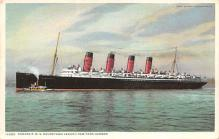 shpp006063 - Cunard Line Ship Postcard Old Vintage Steamer Antique Post Card