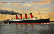 shpp006067 - Cunard Line Ship Postcard Old Vintage Steamer Antique Post Card