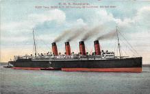 shpp006071 - Cunard Line Ship Postcard Old Vintage Steamer Antique Post Card