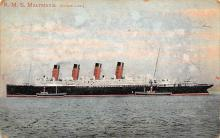 shpp006073 - Cunard Line Ship Postcard Old Vintage Steamer Antique Post Card