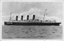 shpp006097 - Cunard Line Ship Postcard Old Vintage Steamer Antique Post Card