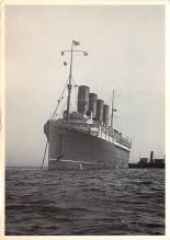 shpp006109 - Cunard Line Ship Postcard Old Vintage Steamer Antique Post Card
