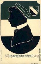 sit001023 - Silhouette Postcard Postcards