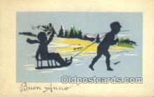 sit001186 - Buon Anno  Postcard Post Card, Carte Postale, Cartolina Postale, Tarjets Postal,  Old Vintage Antique