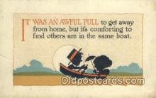 sit001189 - It was an Awful Pull  Postcard Post Card, Carte Postale, Cartolina Postale, Tarjets Postal,  Old Vintage Antique