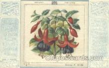 slk001005 - The Art Needlework Series Silk Postcard Postcards