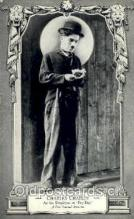 slm001001 - Charles Chaplin, Silent Movie Star Postcard Postcards