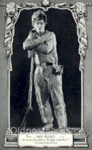 slm001008 - Art Acord, Silent Movie Star Postcard Postcards
