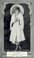 slm001026 - Miss Dupont, Silent Movie Star Postcard Postcards