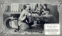 slm001047 - Monte Blue, Silent Movie Star Postcard Postcards