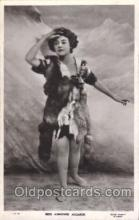 slm001050 - Miss Asrienne Augarde Silent Movie Star Postcard Postcards