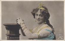 slm001051 - Miss Madge Vincent Silent Movie Star Postcard Postcards