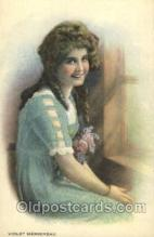 slm100029 - Violet Mersereau Silent Movie Film Actress, Actor Postcard Postcards