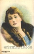 slm100036 - Claire Whitney Silent Movie Star Postcard Postcards