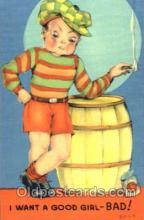 smo001011 - Children Smoking Postcard Postcards