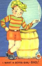smo001024 - Children Smoking Postcard Postcards