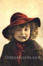 smo001034 - Children Smoking Postcard Postcards