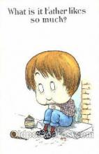 smo001041 - Children Smoking Postcard Postcards