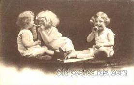 smo001058 - Children Smoking Postcard Postcards