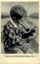 smo001065 - Children Smoking Postcard Postcards