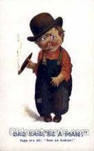 smo001077 - Children Smoking Postcard Postcards