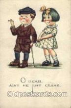 smo001088 - Children Smoking Postcard Postcards