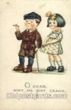 smo001115 - Children Smoking Postcard Postcards