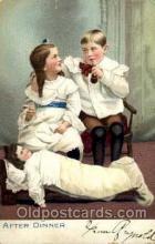 smo001117 - Children Smoking Postcard Postcards