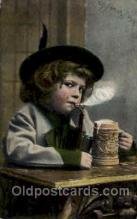 smo001130 - Children Smoking Postcard Postcards