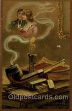 smo001140 - Fantasy, Smoking Postcard Postcards