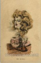 smo001141 - Fantasy Smoke Dreams Smoking Postcard Postcards