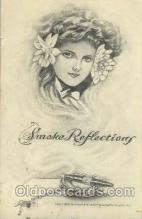 smo001143 - Fantasy Smoke DreamsSmoking Postcard Postcards
