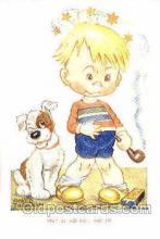 smo001155 - Children Smoking Postcard Postcards
