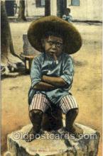smo001156 - Children Smoking Postcard Postcards