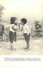 smo001158 - Children Smoking Postcard Postcards