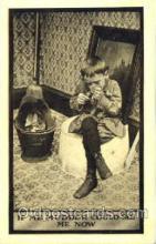 smo001159 - Children Smoking Postcard Postcards