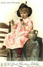 smo001162 - Children Smoking Postcard Postcards