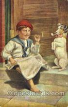 smo001166 - Children Smoking Postcard Postcards