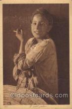 smo001198 - People / Children Smoking Postcard Postcards
