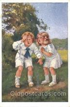 smo001207 - People / Children Smoking Postcard Postcards