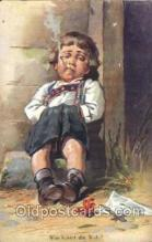 smo001208 - People / Children Smoking Postcard Postcards