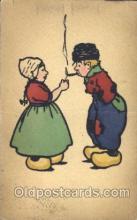 smo001220 - People / Children Smoking Postcard Postcards