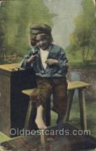 smo001222 - People / Children Smoking Postcard Postcards