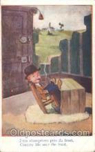 smo001237 - Mac People / Children Smoking Postcard Postcards